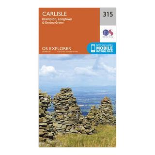Explorer 315 Carlisle Map With Digital Version