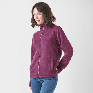 Women's Knit-Look Bonded Fleece