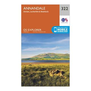 Explorer 322 Annandale Map With Digital Version