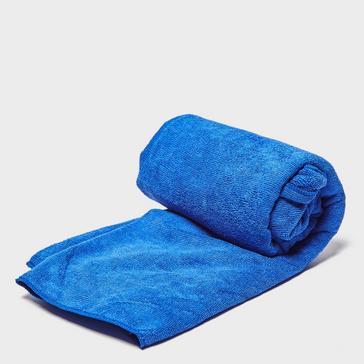 Blue Eurohike Terry Microfibre Travel Towel - Large
