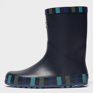 Boys' Striped Trim Wellies