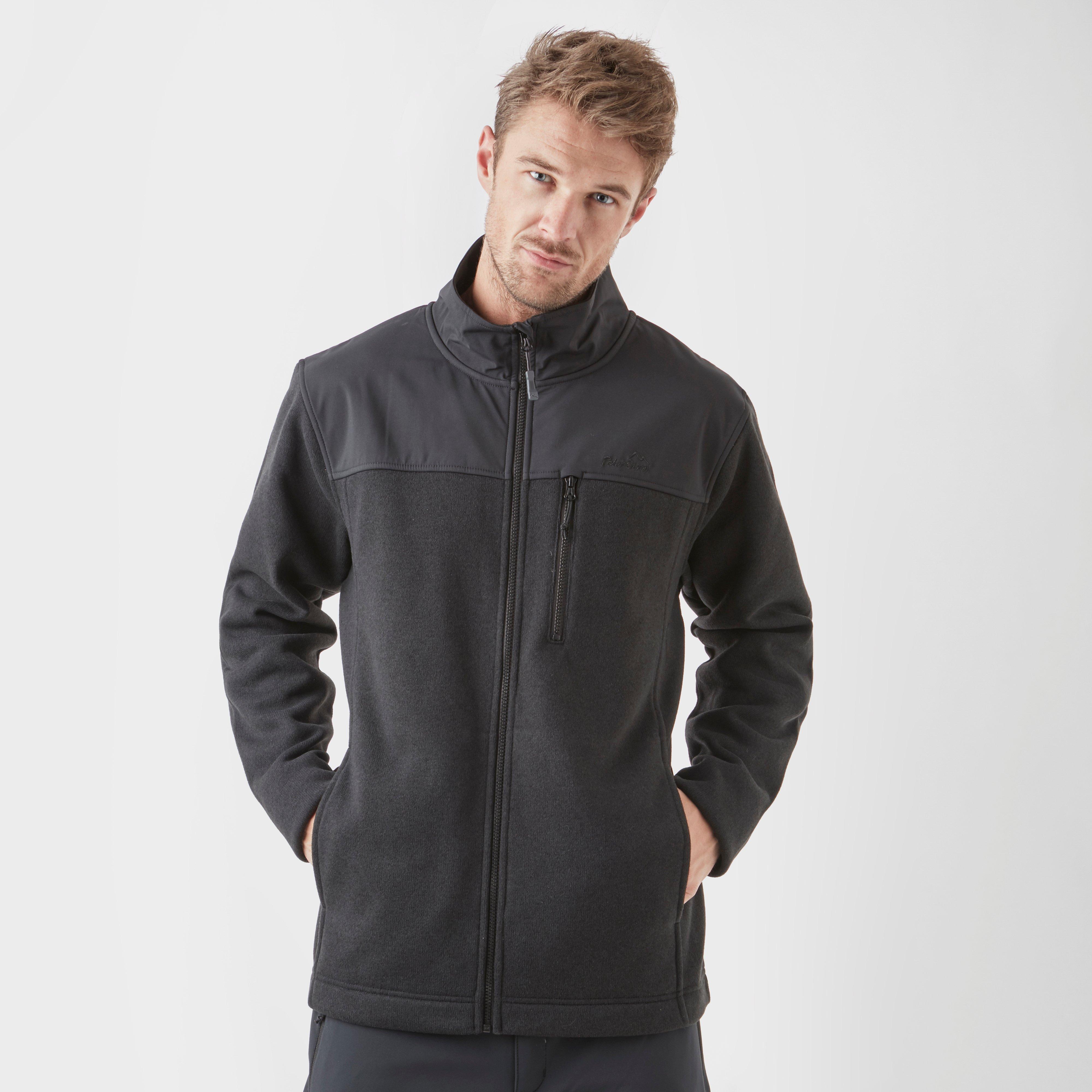 Image of Peter Storm Men's Coverdale Full-Zip Fleece - Black/Blk, Black/BLK