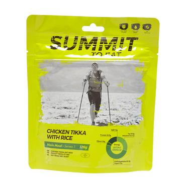 yellow Summit To Eat Chicken Tikka With Rice