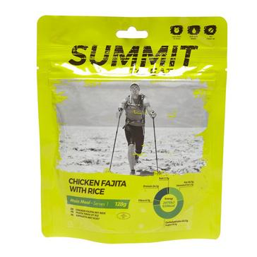 yellow Summit To Eat Chicken Fajita With Rice