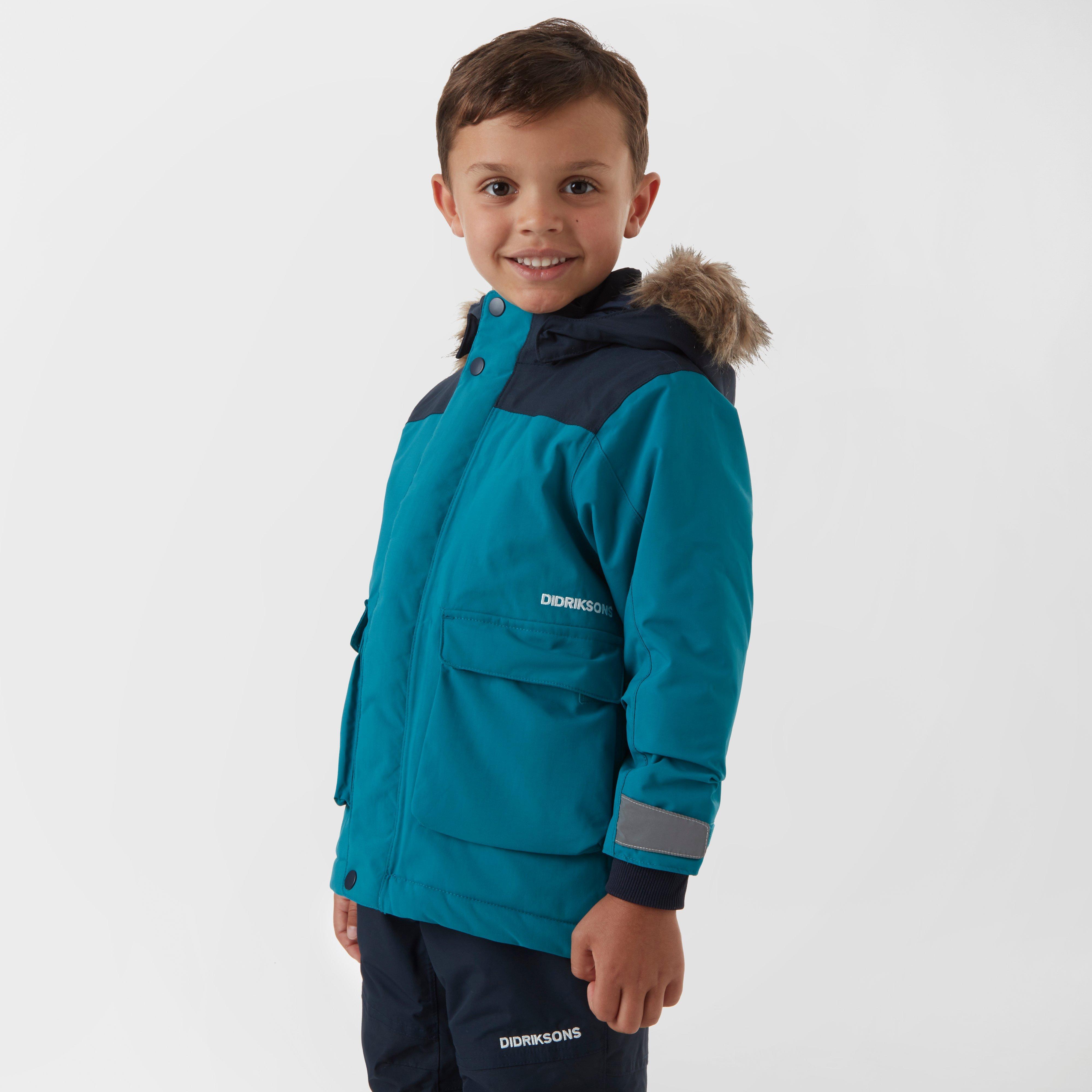 a3fa515c63 Didriksons Kid s Kure Parka Light Blue
