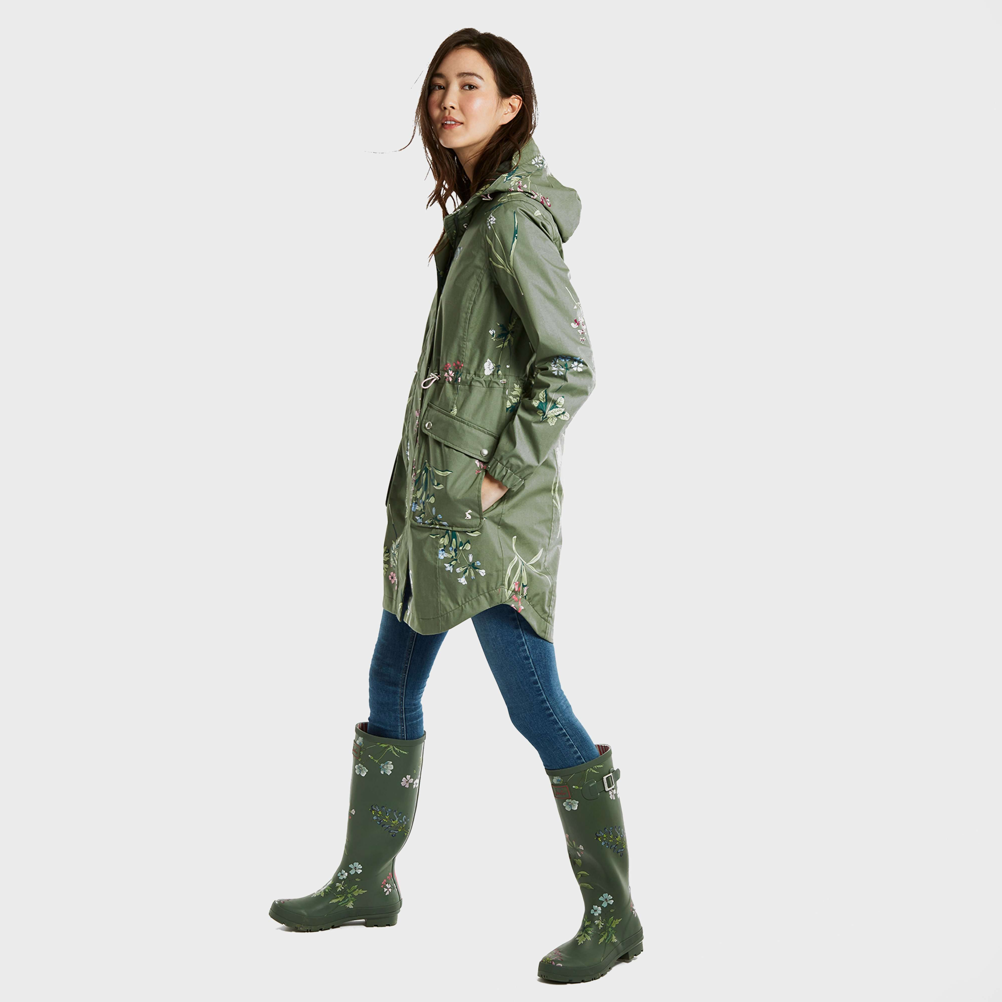 JOULES Women's Coastline Waterproof Jacket