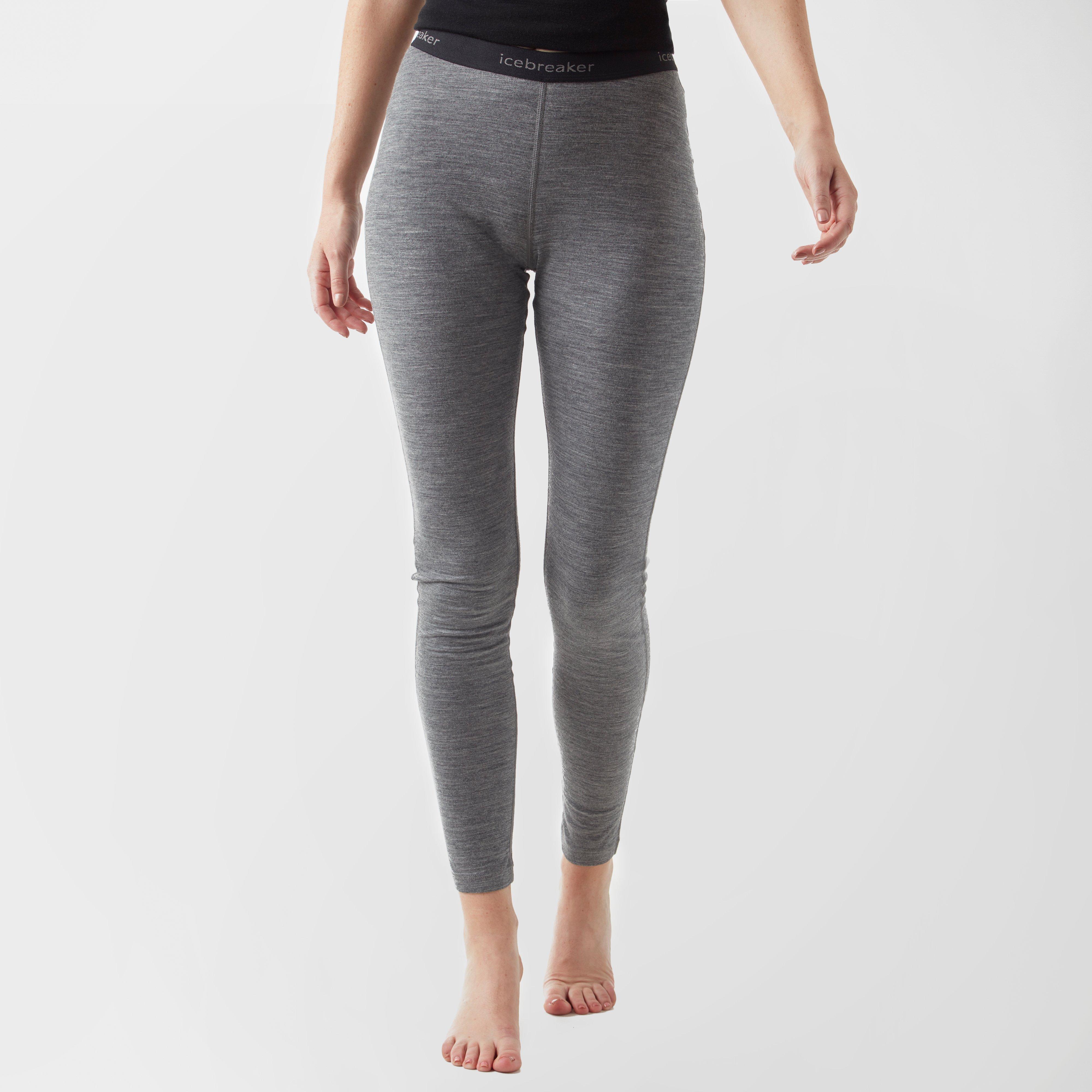 Icebreaker Icebreaker womens Oasis Legging - Grey, Grey