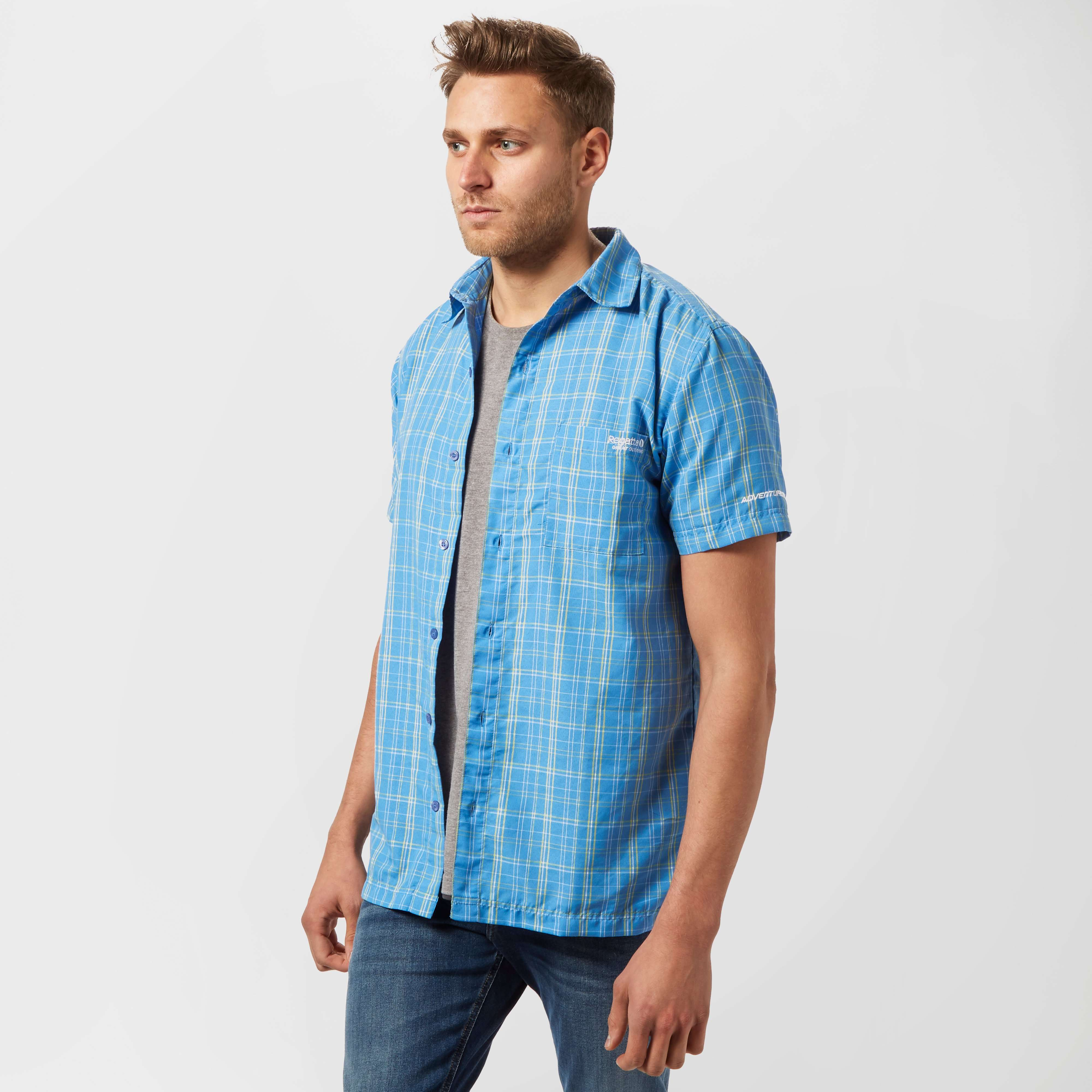 REGATTA Men's Shelton Short Sleeve Shirt