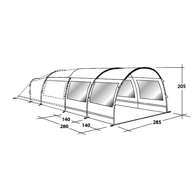 OUTWELL Birdland M Tent Extension  sc 1 st  Blacks & OUTWELL Birdland M Tent Extension | Blacks