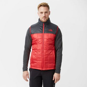 d80faefe5e20 Red THE NORTH FACE Men s Exhale Gilet ...