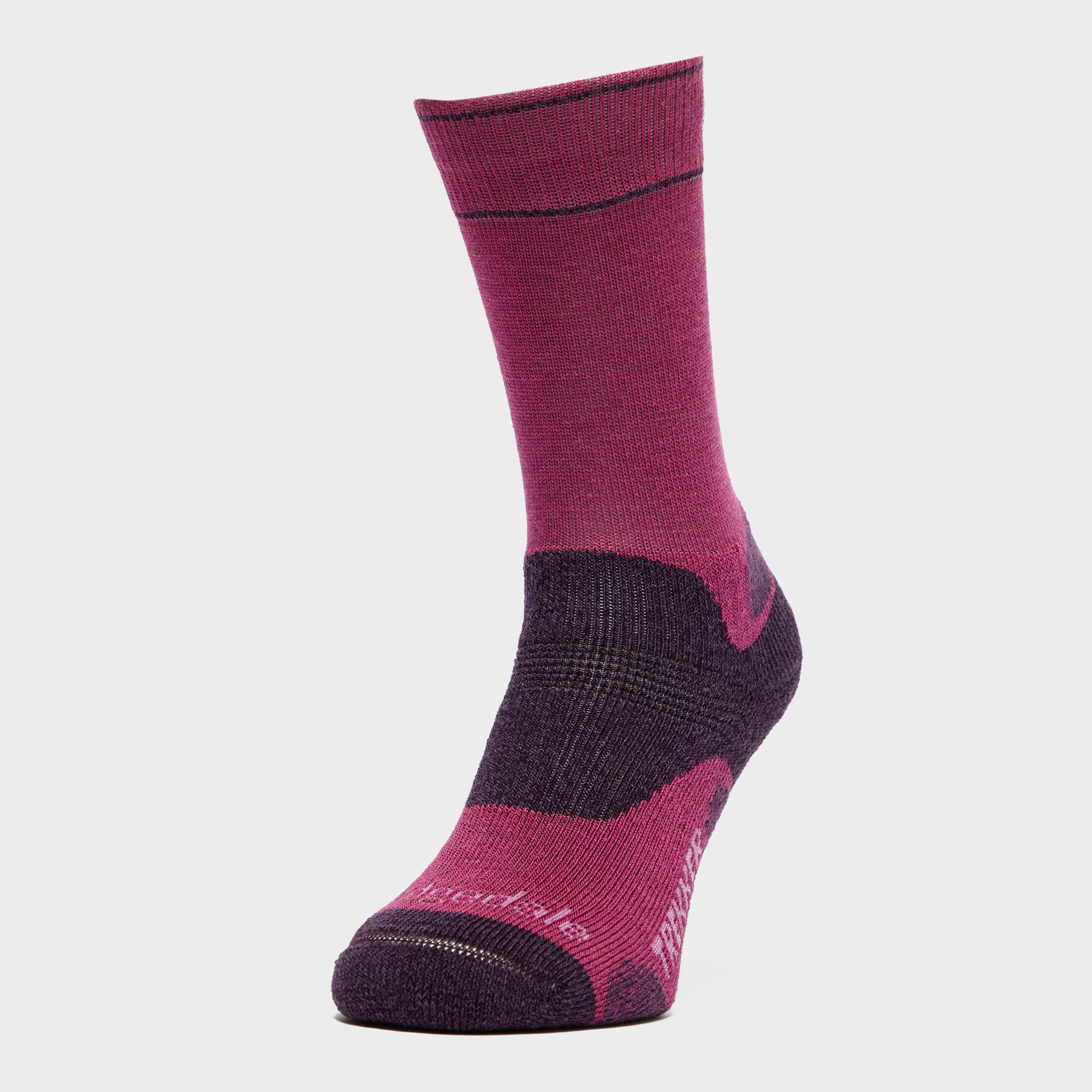 Bridgedale Bridgedale womens Hike Midweight Endurance Socks - Purple, Purple