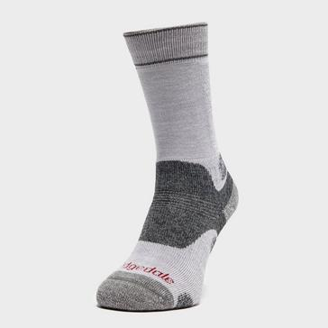 Grey|Grey Bridgedale Women's Hike Midweight Boot Sock