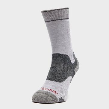 bf541f0811e2f Grey BRIDGEDALE Women's Woolfusion® Trekker Socks ...