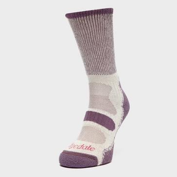 cd11d13369ab1 BRIDGEDALE Women's Hike Coolmax® Comfort Lightweight Socks