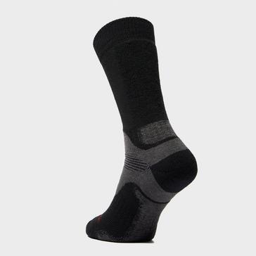 Black Bridgedale Men's WoolFusion® Trekker Socks