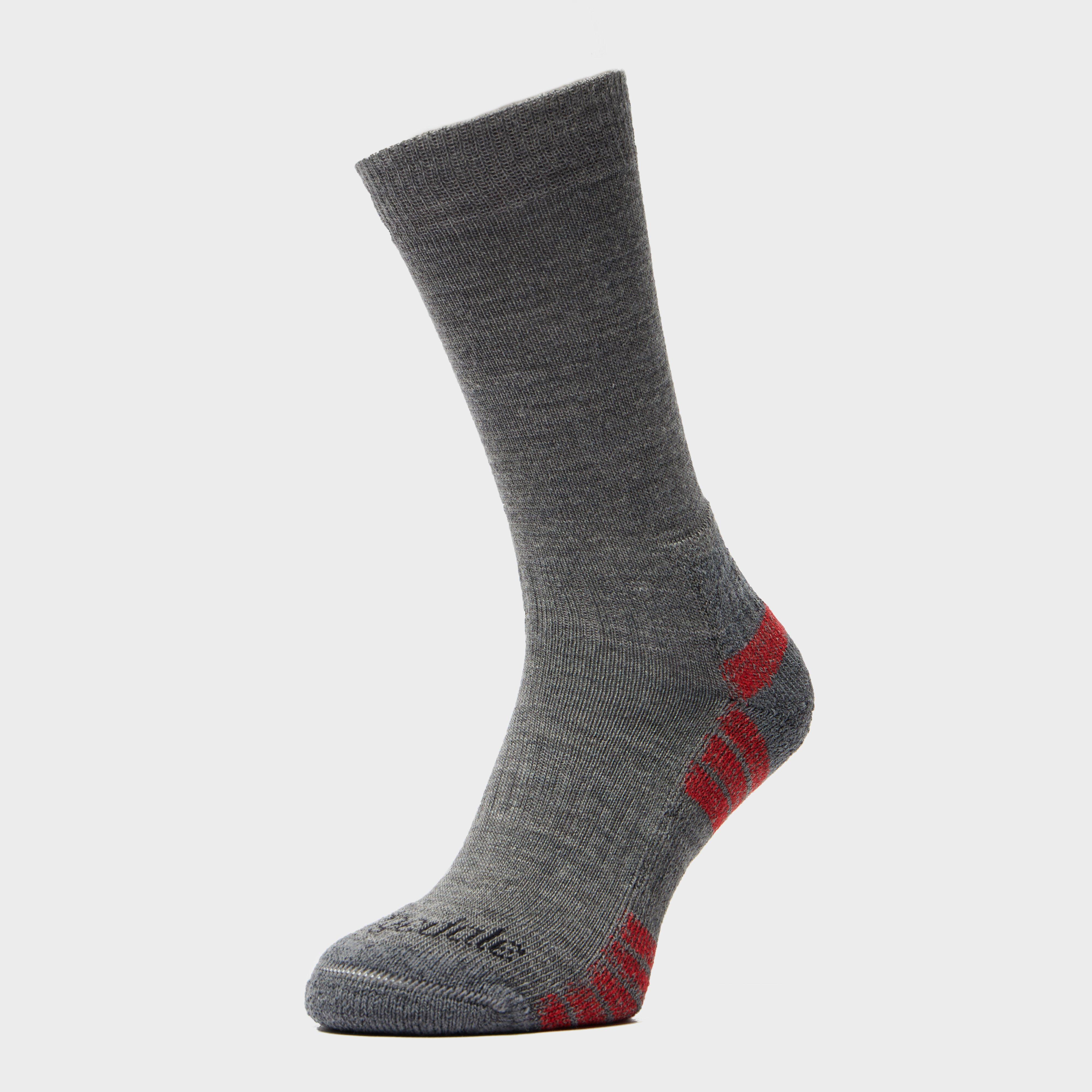 Bridgedale Bridgedale Mens HIKE Lightweight Merino Performance Socks - Grey, Grey