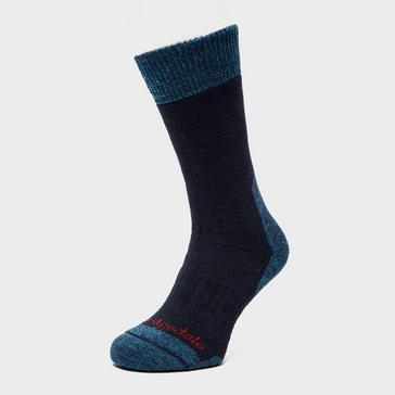 Navy Bridgedale Men's Explorer Heavyweight Boot Sock