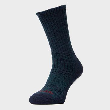 0864682b8c005e Navy BRIDGEDALE Men s Hike Midweight Boot Socks ...