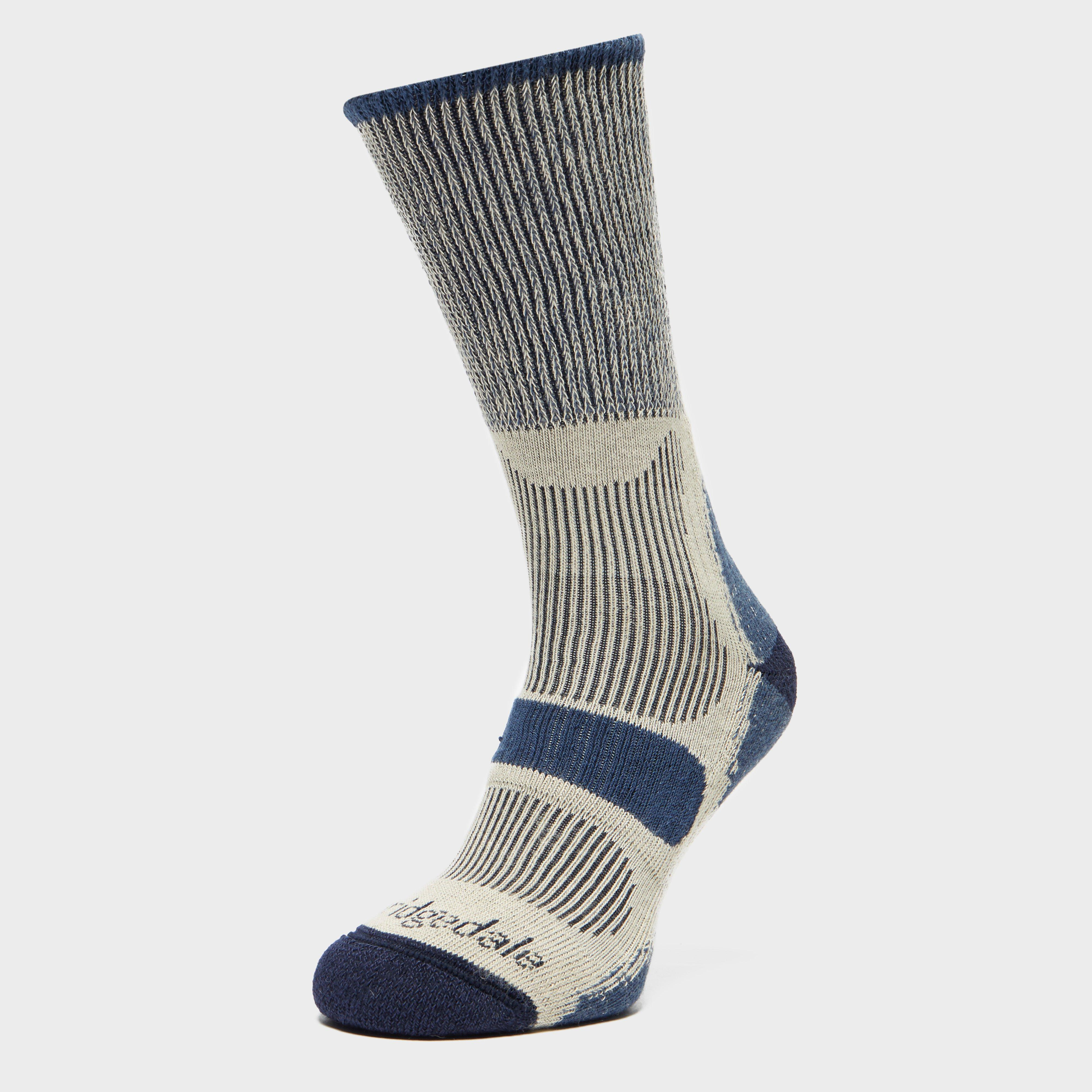 Bridgedale Bridgedale Mens Coolmax Light Hiker Sock - Blue, Blue