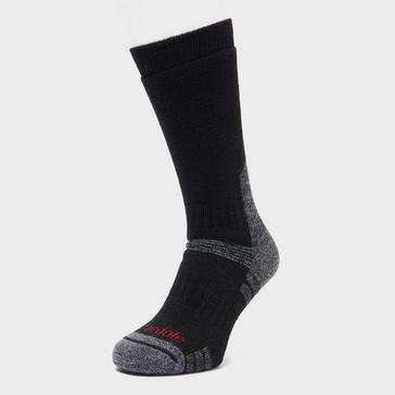 Black Bridgedale Men's Explorer Heavyweight Boot Sock