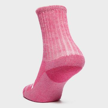 PINK Bridgedale Kids' WoolFusion® Trekker Socks