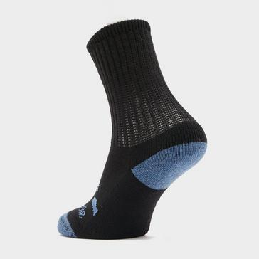 Black Bridgedale Kids' Woolfusion® Trekker Junior Socks