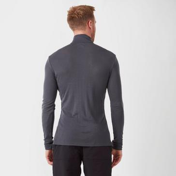 Grey Icebreaker Men's 175 Everyday Long Sleeve Half Zip