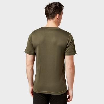 Green Peter Storm Men's Short Sleeve Thermal Crew Baselayer Top