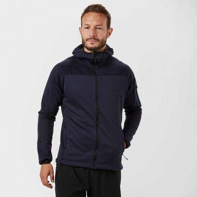 super popular 52cb0 801fe adidas Men s Terrex Stackhorn Hooded Fleece Jacket image 1