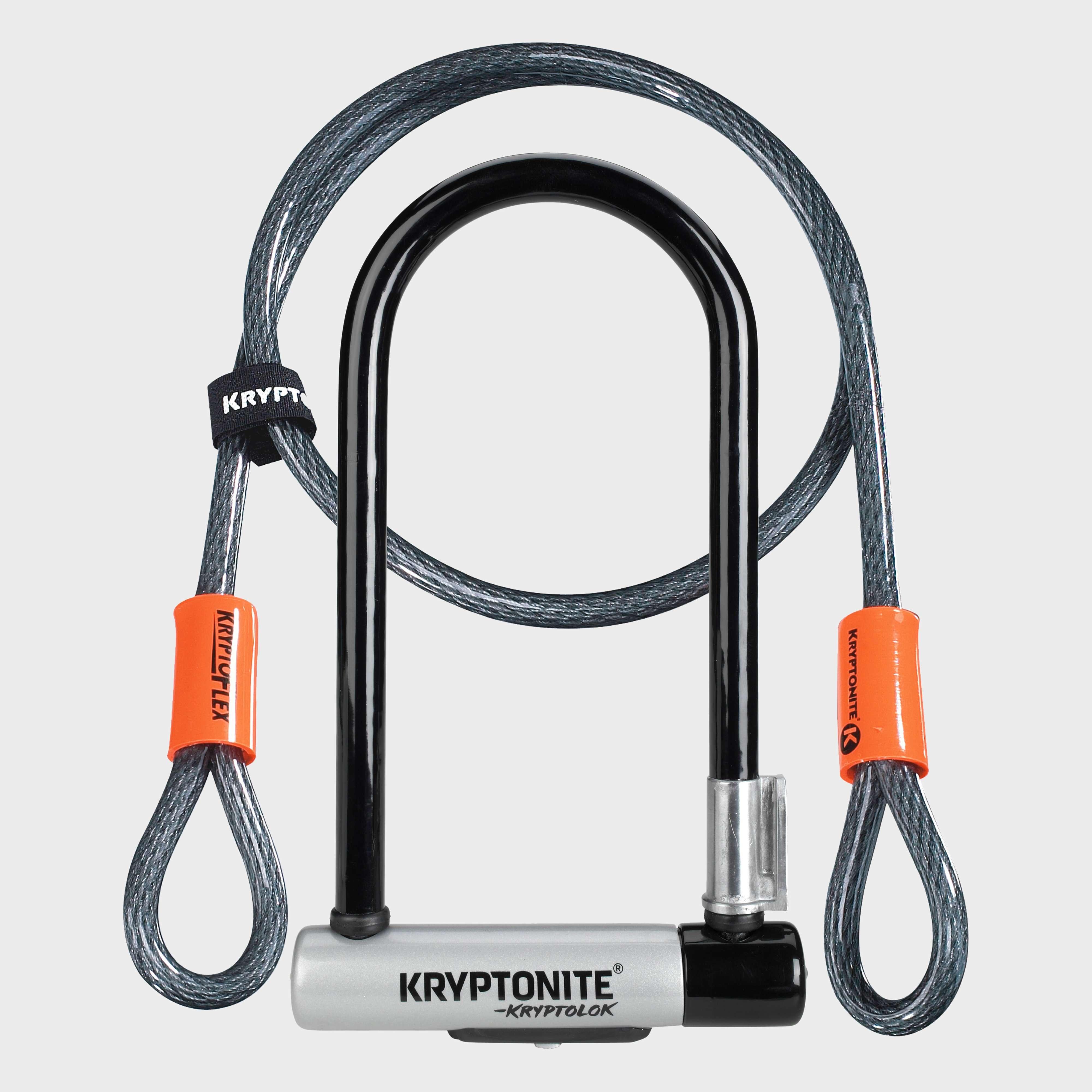 KRYPTONITE KryptoLok Series 2 D-Lock & KryptoFlex Cable