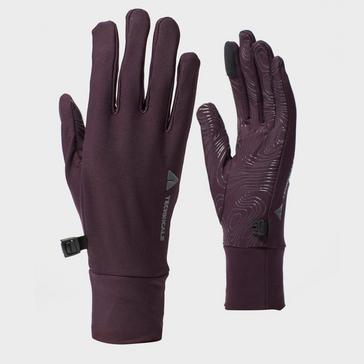 Purple Technicals Women's Sticky Stretch Gloves