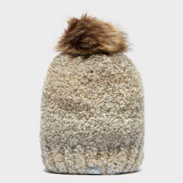 Beige Peter Storm Women's Bouncle Bobble Hat