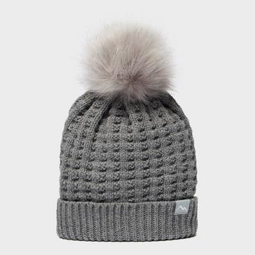 Mid Grey Peter Storm Kids' Sophia Bobble Hat