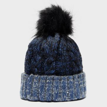 Mid Blue Alpine Women's Gemini Bobble Hat