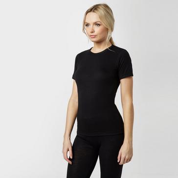 Black Peter Storm Women's Short Sleeve Thermal Crew Baselayer