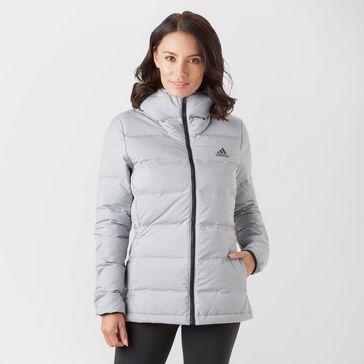 6490f36a5 adidas Women's Helionic Hooded Down Jacket ...