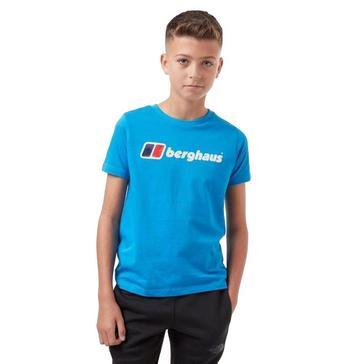Blue Berghaus Kids Logo T-Shirt