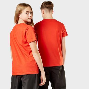 Red Berghaus Kids' Logo T-Shirt
