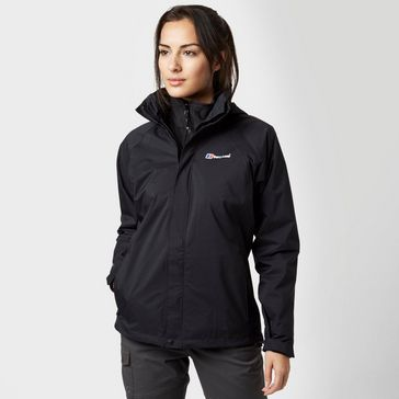Black BERGHAUS Women s Calisto Delta 3 in 1 Jacket ... f3ee5631460fc
