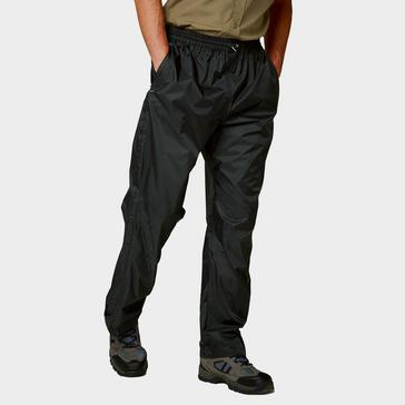 Black Craghoppers Unisex Ascent Overtrousers