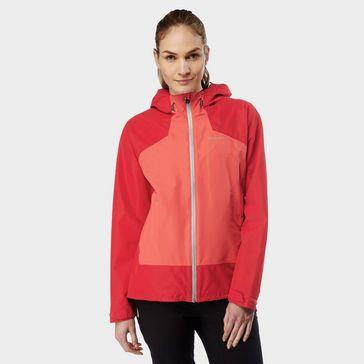 74648e7f1d5 Red CRAGHOPPERS Women s Apex Waterproof Jacket ...