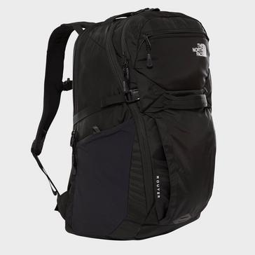 Black The North Face Router 40 Litre Daysack
