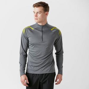 Asics Men's Icon Long Sleeve Zip Tee