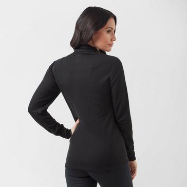 Black Odlo Women's Active Original Warm Half-Zip