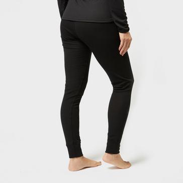 Black Odlo Women's Active Warm Pant