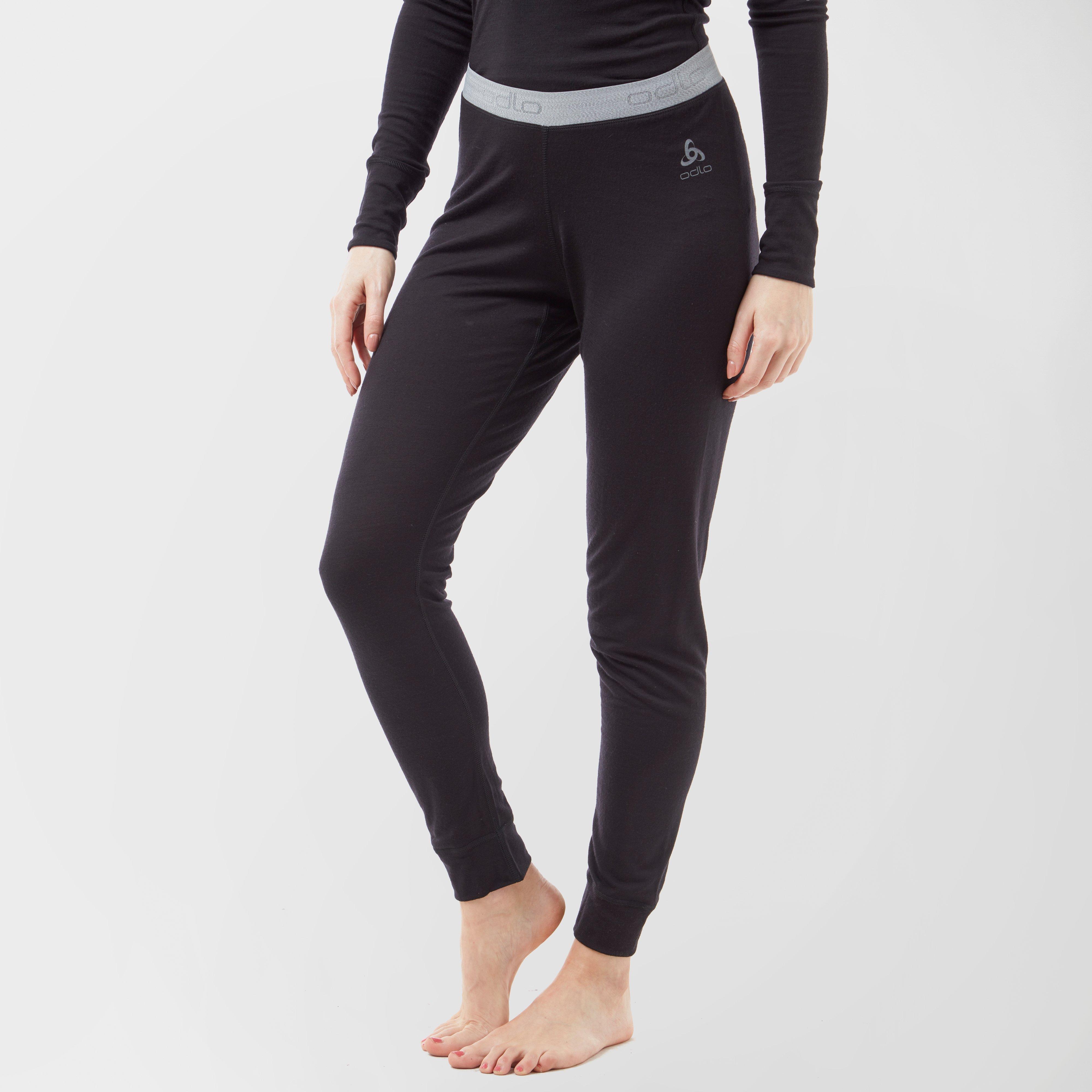 Odlo Odlo Womens Merino Warm Pants - Black, Black