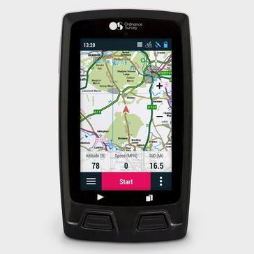 Black Ordnance Survey Velo GPS