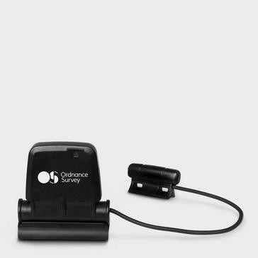 Black Ordnance Survey GPS Cadence and Speed Sensor