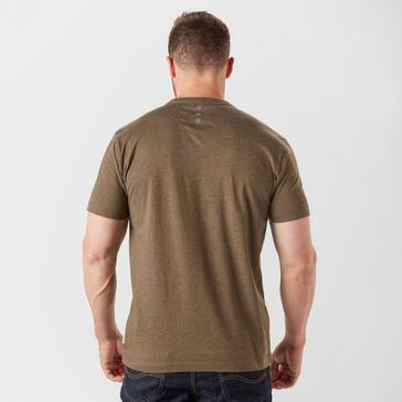 Brown Hi Tec Men's Barnet Short Sleeve Graphic T-Shirt