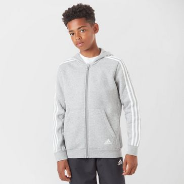 49e67a4b18 adidas Kids  Essentials 3-Stripe Full-Zip Hoodie ...